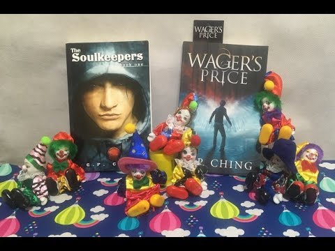 YA Book Giveaway GP Ching Soulkeepers Wagers Price Mp3