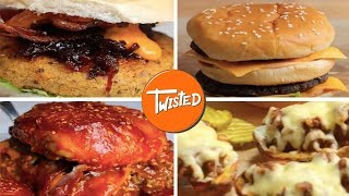 Video 6 Incredible Burger Recipes   Twisted download MP3, 3GP, MP4, WEBM, AVI, FLV Juli 2018