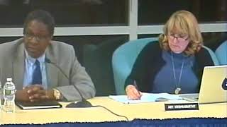 School Committee Meeting 2/28/18 - Interview of ABRSD Superintendent Finalist Anthony Parker
