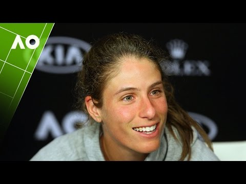 Johanna Konta press conference (QF) | Australian Open 2017