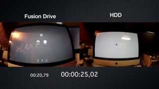 Fusion Drive vs HDD Boot Time