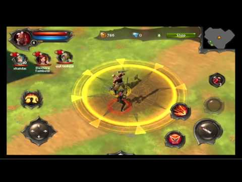 Dungeon Hunter 4 Co-Op Gameplay/Commentary