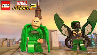 All Spiderman Cheat Codes For Lego Marvel Superheroes 2