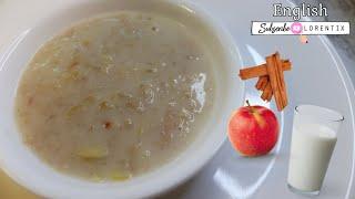 Oatmeal with apple I Lorentix