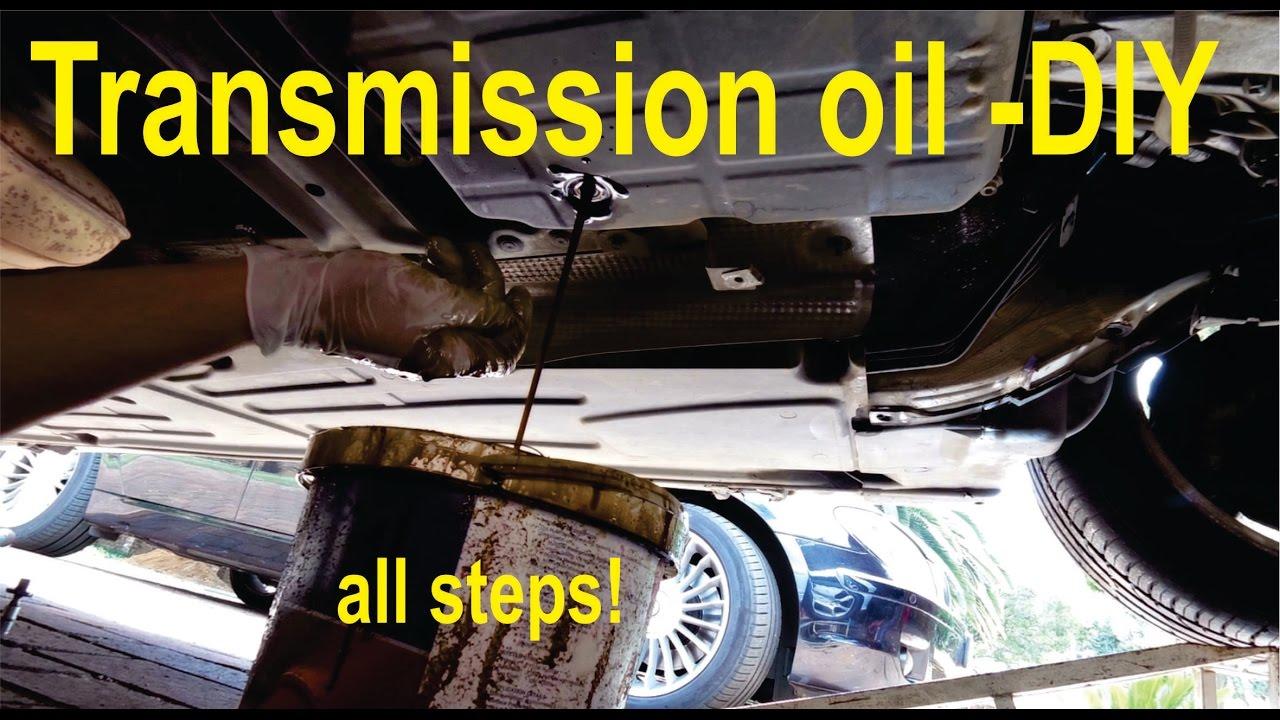 transmission oil flush (partial) - all steps - home diy (c-class & e
