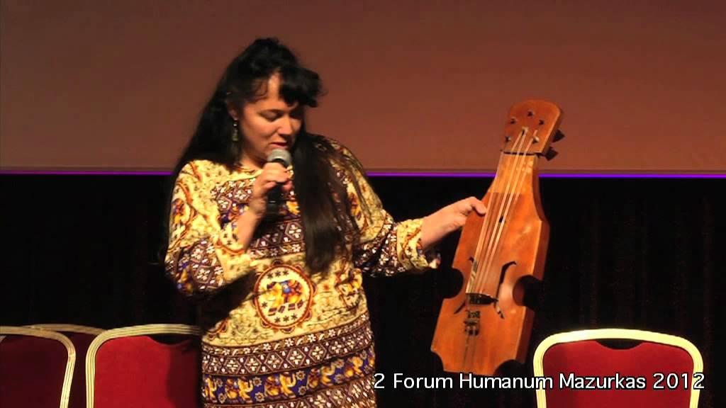 II Forum Humanum Mazurkas- Maria Pomianowska- o swoich egzotycznych instrumentach
