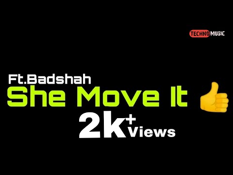 tm-:-she-move-it-like-|-badshah-|-#technomusic7