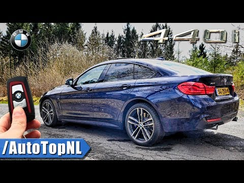 2018 BMW 4 Series Gran Coupe 440i xDrive REVIEW POV Test Drive by AutoTopNL
