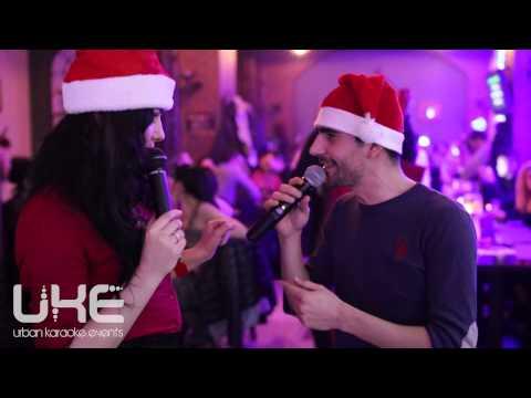 Alia & Theo    Give me one reason (live @ Palace pub) - UKE karaoke night
