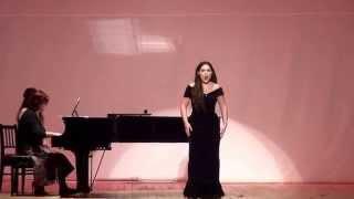 "Antonia Cosmina Stancu - Cilea: ""Acerba voluttà"" (Adriana Lecouvreur) - 22 years old"