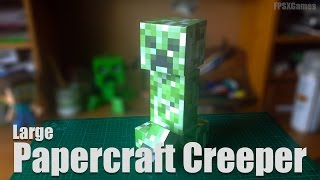 Large Papercraft Creeper