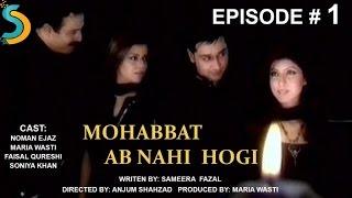 Maria Wasti, Anjum Shahzad Ft. Noman Ejaz - Mohabbat Ab Nahi Hogi Drama Serial | Episode#1