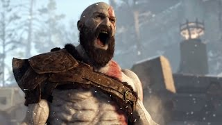 GOD OF WAR PS4 - Incrível Retorno da Franquia (Preview Gameplay E3 2016 Demo)