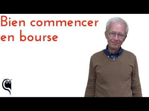 Guillaume Rouvier explique : Bien commencer en bourse
