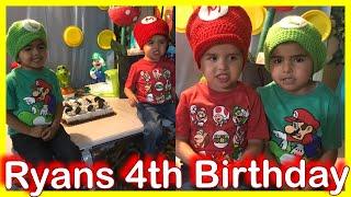 RYAN'S 4TH BIRTHDAY PARTY - Vlog 11 | JOVANY ROMO