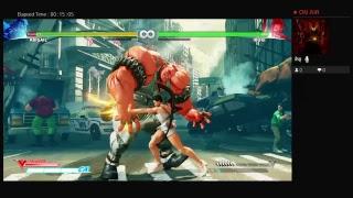 street fighter V new character