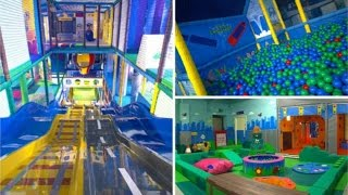 Children's entertainment center.Very cool center for kids. happy time