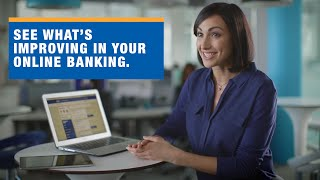 Extra easy Online Banking is here.
