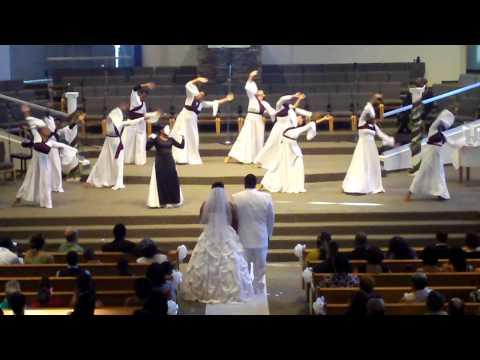 Karen and Austins Wedding Praise Dance