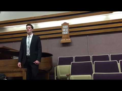 Curtis Lunt BYU School of Music Audition