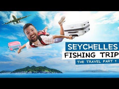 Seychelles FISHING TRIP - SOFIA - QATAR DOHA - SEYCHELLES VICTORIA AIRPORT  part 1