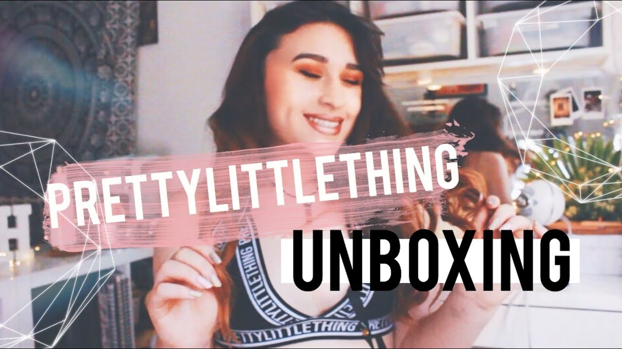 PRETTYLITTLETHING BIKINI UNBOXING + REVIEW | HALEYCREATES