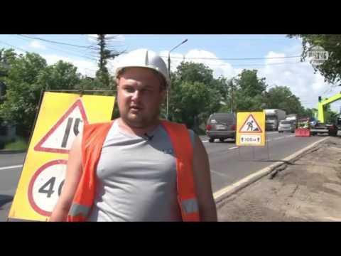 Установка опор освещения серии ОГК (монтаж фонарных столбов на улицах РФ)