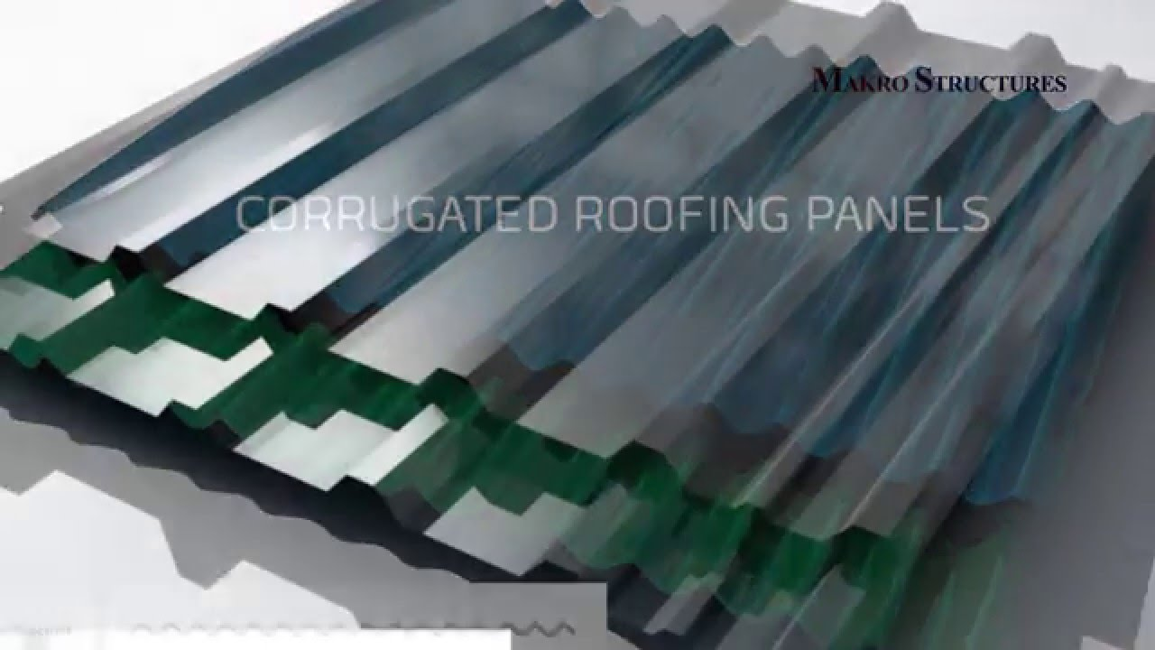 How to install corrugated roof panels YouTube