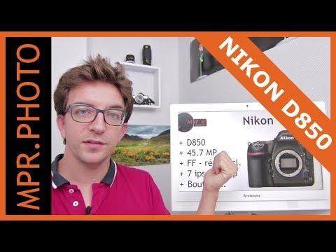 NIKON D850 et autres news Photo - MPR News Septembre 2017