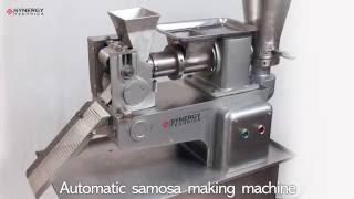 Samosa Making Machine By Synergy Technics