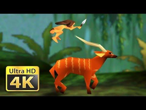 Disney's Tarzan - Old Games In 4K