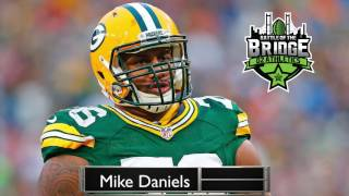Nfl Star Mike Daniels New Jersey vs New York Battle of The Bridge.