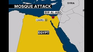 MOSQUE ATTACK: More than 200 killed in attack on Egyptian mosque attack