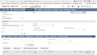 Netsuite    2017    Auto Generated Numbers