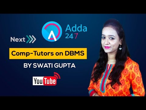 Comp-Tutors for IBPS PO MAINS on DBMS by Swati Gupta