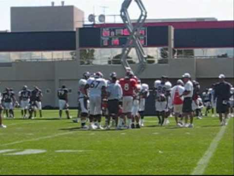 A few highlights/lowlights of the Broncos 2010 Training Camp, Aug 6th session