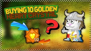 Growtopia - Buying 10 Golden Heart Crystal (GHC) | Valentine