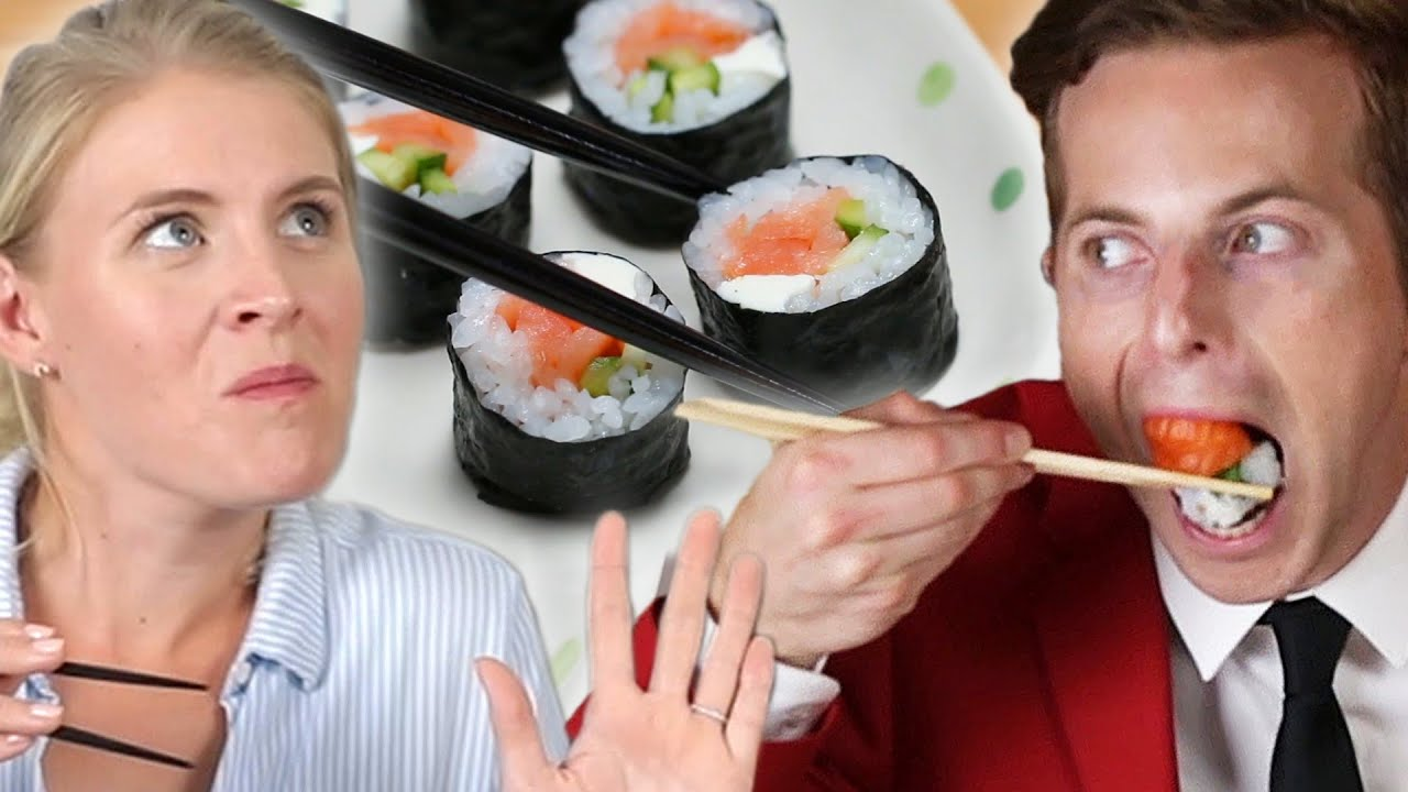 maxresdefault - Couple Tries Home-Cooked Vs. $35 Sushi