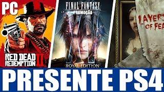 PRESENTE EXCLUSIVO PS4!!! RED DEAD REDEMPTION 2 NO PC E MAIS!!!