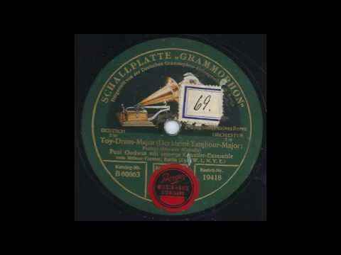 Toy Drum Major Der Kleine Tambour Major - Paul Godwin & sein Künstlerensemble