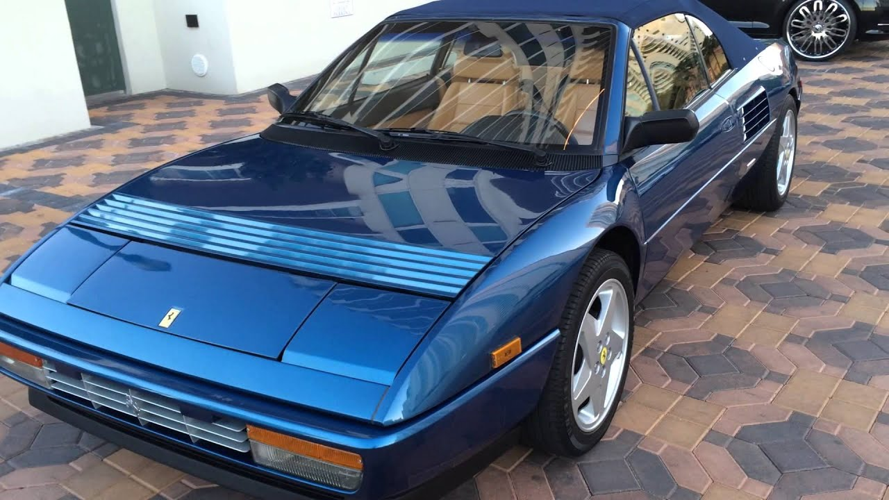 1993 ferrari mondial convertible at celebrity cars las vegas youtube. Black Bedroom Furniture Sets. Home Design Ideas