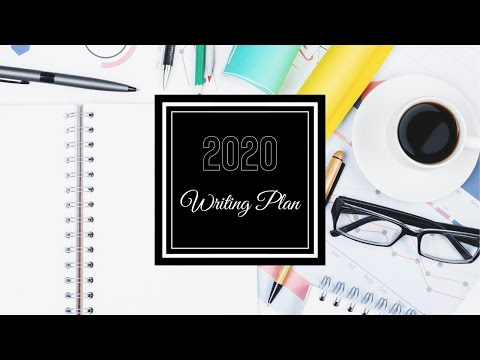 How To Plan Your 2020 Writing Schedule