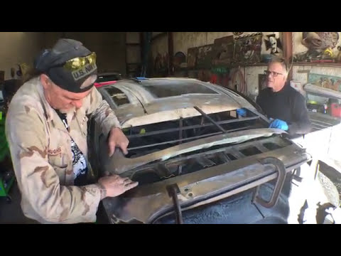 Metal Fabrication  Made Simple - Choping  The Top On A 1950 Ford