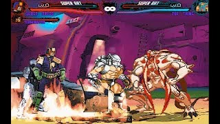 Mugen : Judge Dredd, Terminator, Robocop HD & Predator Vs The Thing From Another The World (Request)