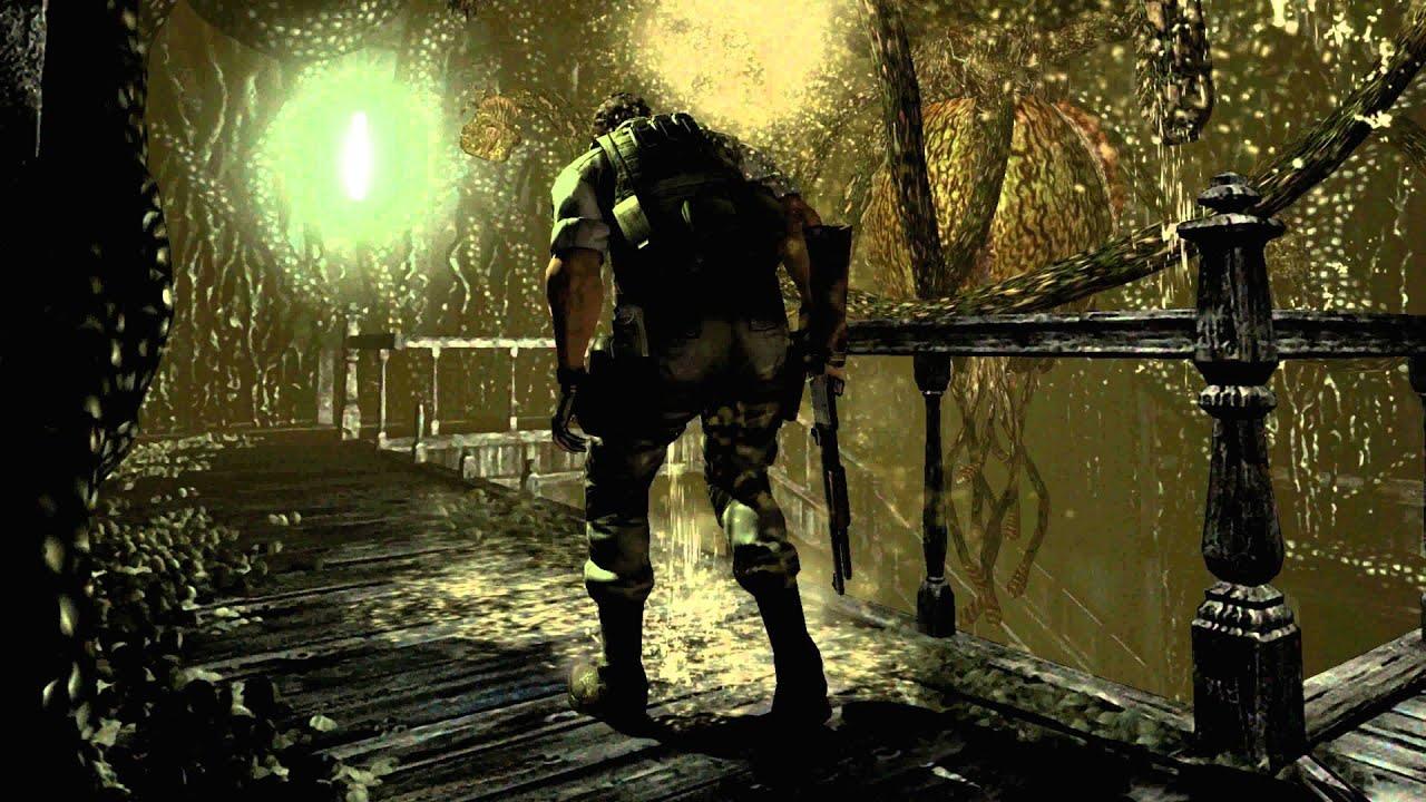 Resident evil hd remaster plant 42 boss fight 4k 60fps for Plante 42 resident evil