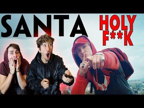 Logan Paul  SANTA DISS TRACK  Music Video REACTION!
