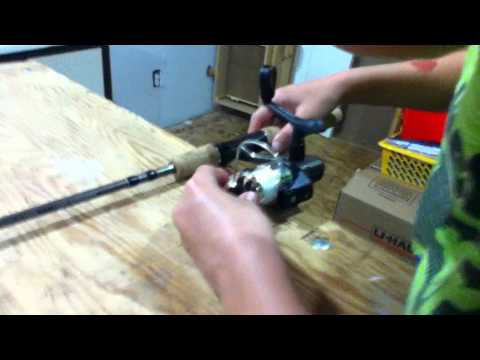 Tutorial #1: How To Set Up Your Fishing Rod