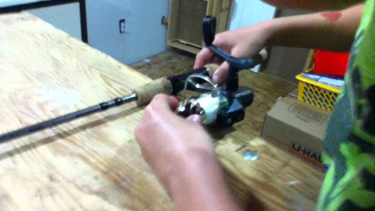 Tutorial 1 how to set up your fishing rod youtube for How to set up a fishing rod