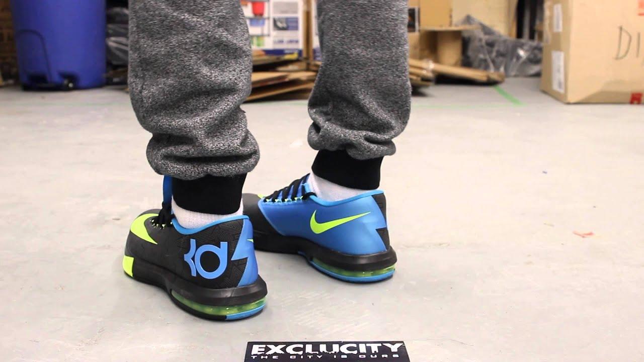 c5a50fef6e3e KD VI - Black - Volt On-feet Video at Exclucity - YouTube