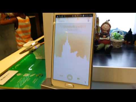 Store Display Samsung Galaxy S5 Awful Screen Burn-in!!